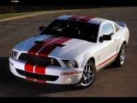 Ford Mustang Shelby GT500 Red Stripe 2007
