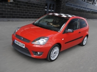 Ford Fiesta Zetec S Red UK 2008