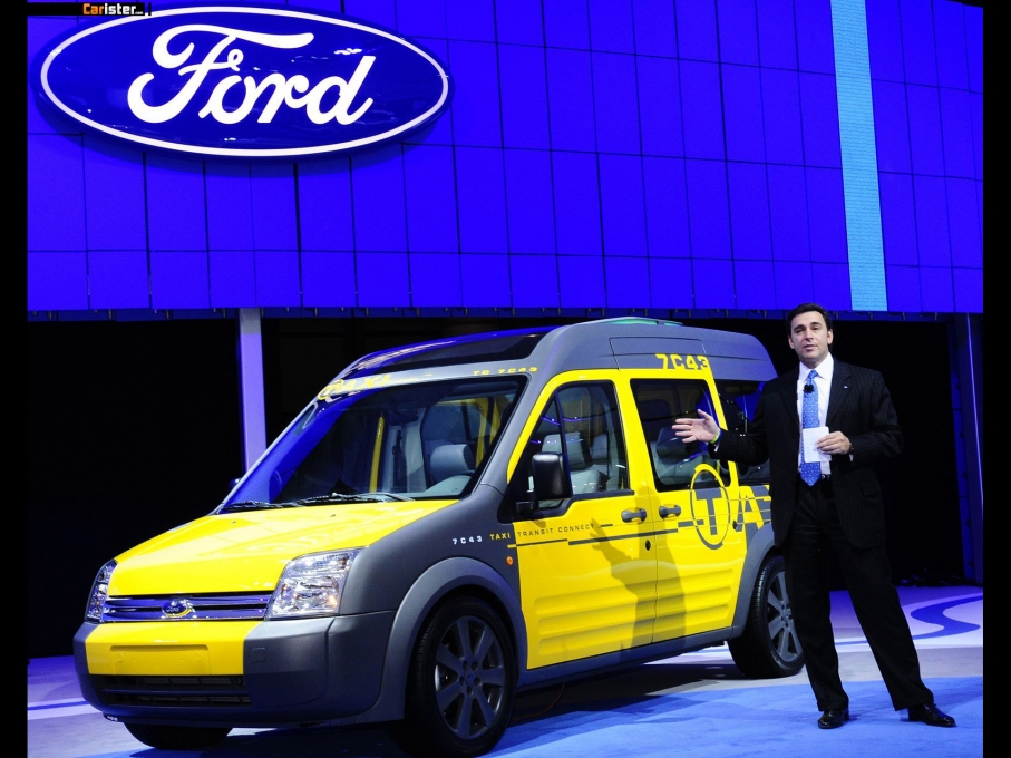 Ford Transit Connect Taxi Concept 2008 - Photo 01 - 1024x680