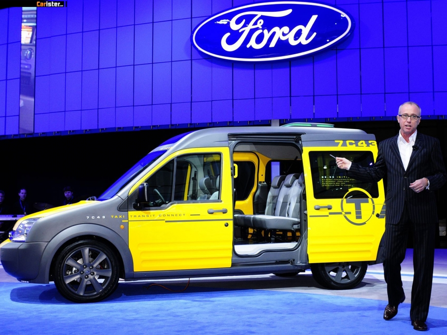 Ford Transit Connect Taxi Concept 2008 - Photo 04 - 1024x680