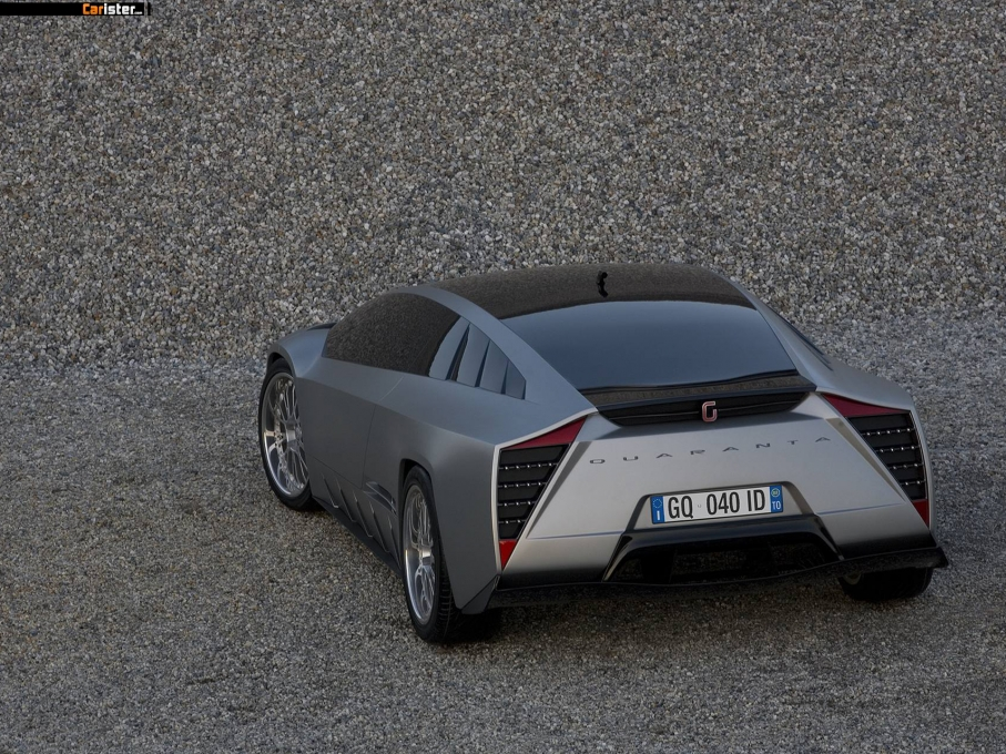 Giugiaro Quaranta Concept 2008 - Photo 07 - 1024x680