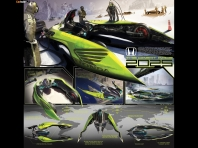 Honda The Great Race 2025 Concept 2008