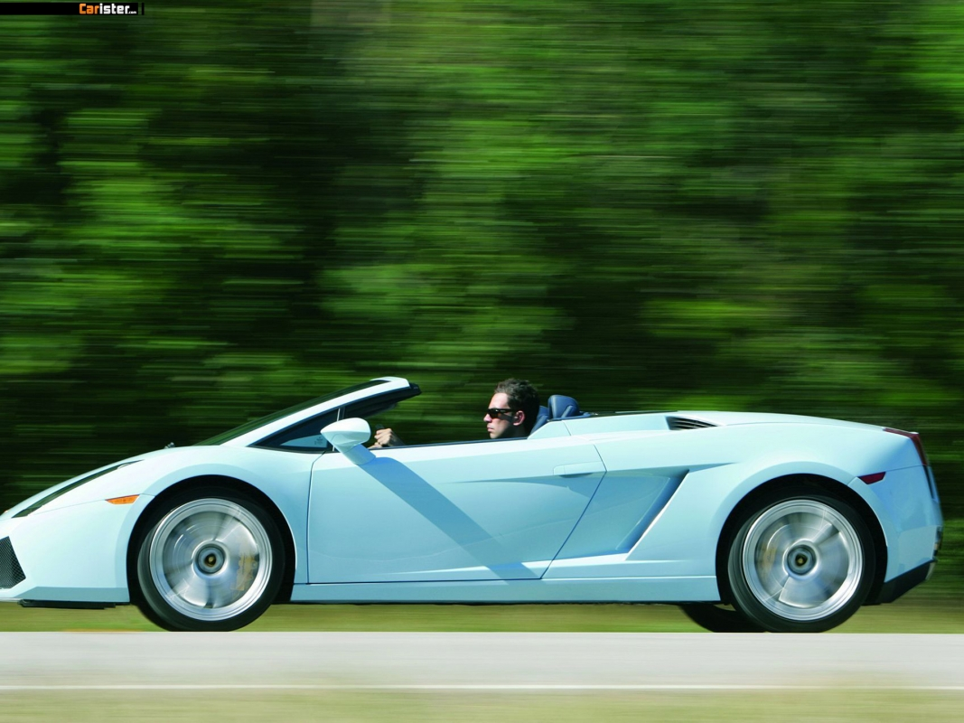 Lamborghini Gallardo Spyder 2006 - Photo 10 - Taille: 1067x800