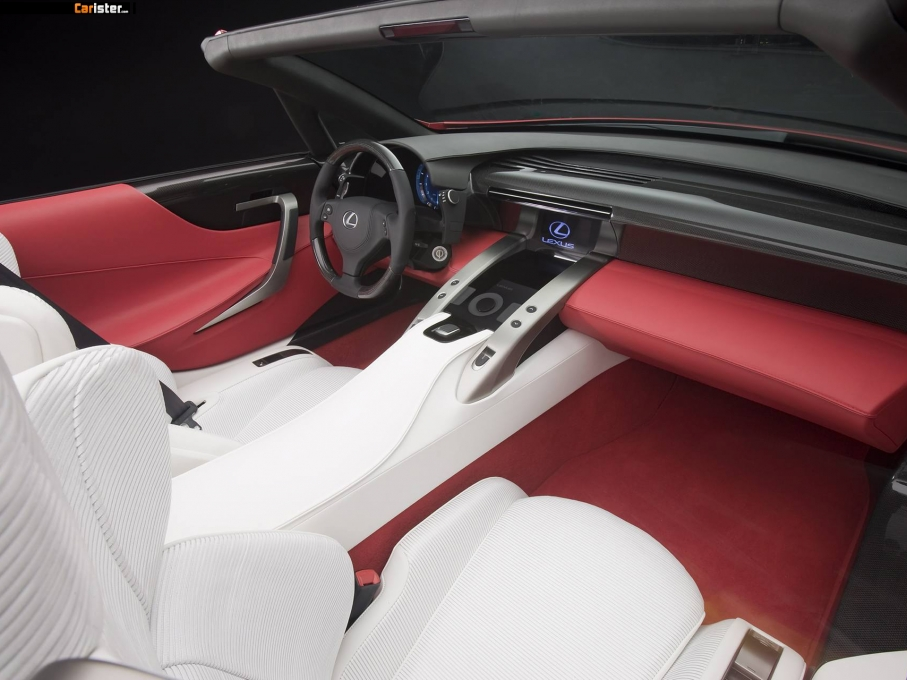Lexus LF-A Roadster Concept 2008 - Photo 50 - 1024x680
