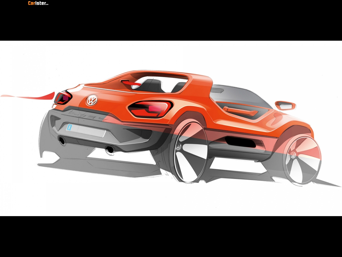 Volkswagen Buggy Up Concept 2011 - Photo 03 - Taille: 1200x900