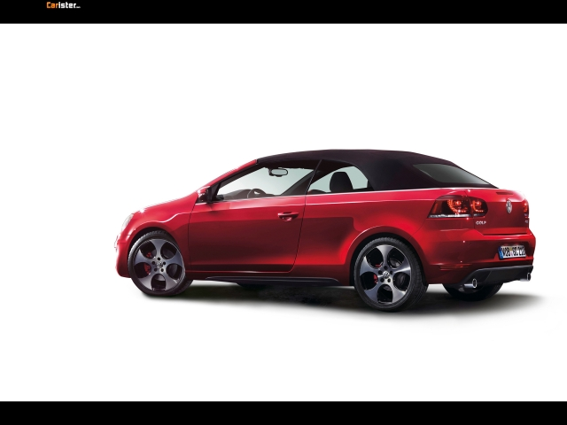 Volkswagen Golf GTI Cabriolet 2012 - Photo 09 - Taille: 640x480