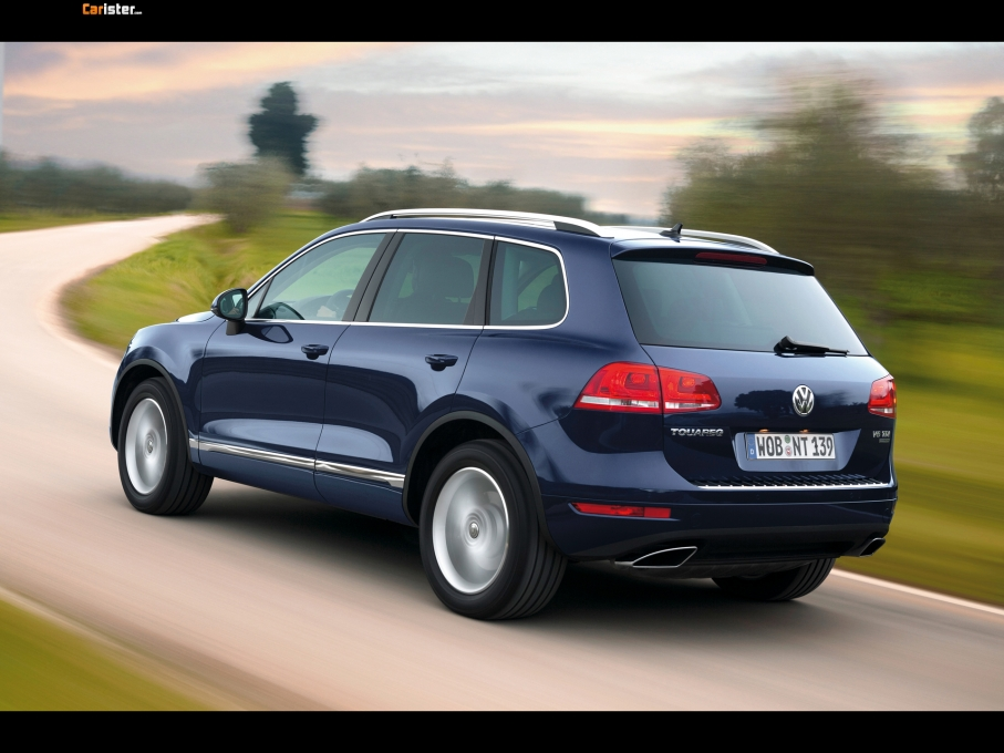 Volkswagen Touareg Bluemotion 2010 - Photo 05 - 1024x680