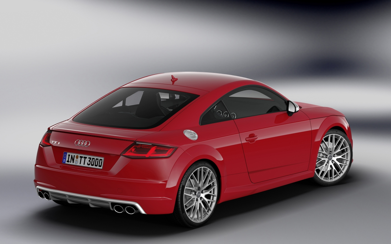 Audi TTS Coupe 2015 - Photo 02 - Taille: 1280x800