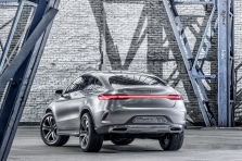 Mercedes Coupe SUV Concep…