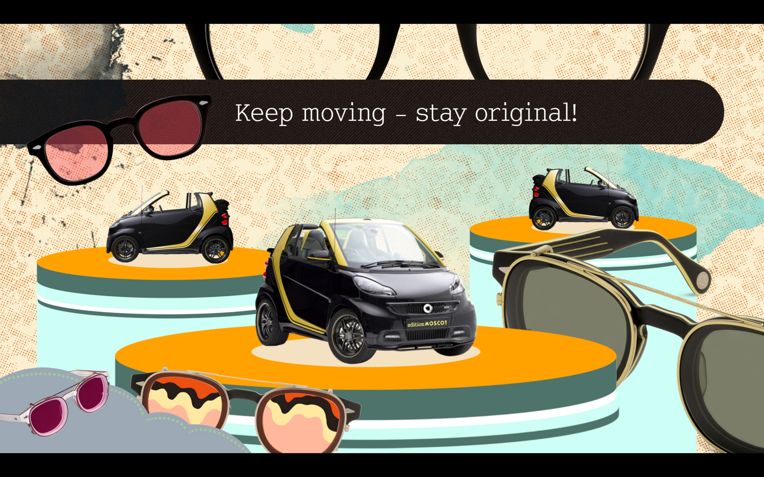 Smart Fortwo Cabrio Moscot Edition 2015 - Photo 28 - Taille: 2560x1600