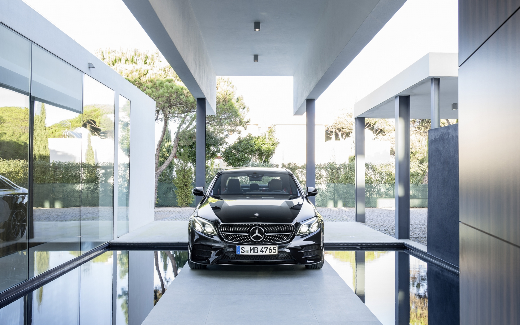 Mercedes E 43 AMG 4Matic 2017 - Photo 07 - Taille: 1680x1050