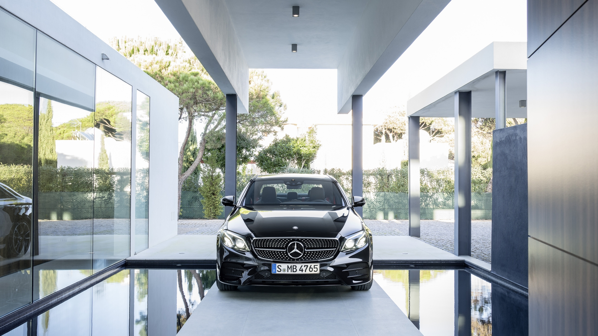 Mercedes E 43 AMG 4Matic 2017 - Photo 07 - Taille: 1920x1080