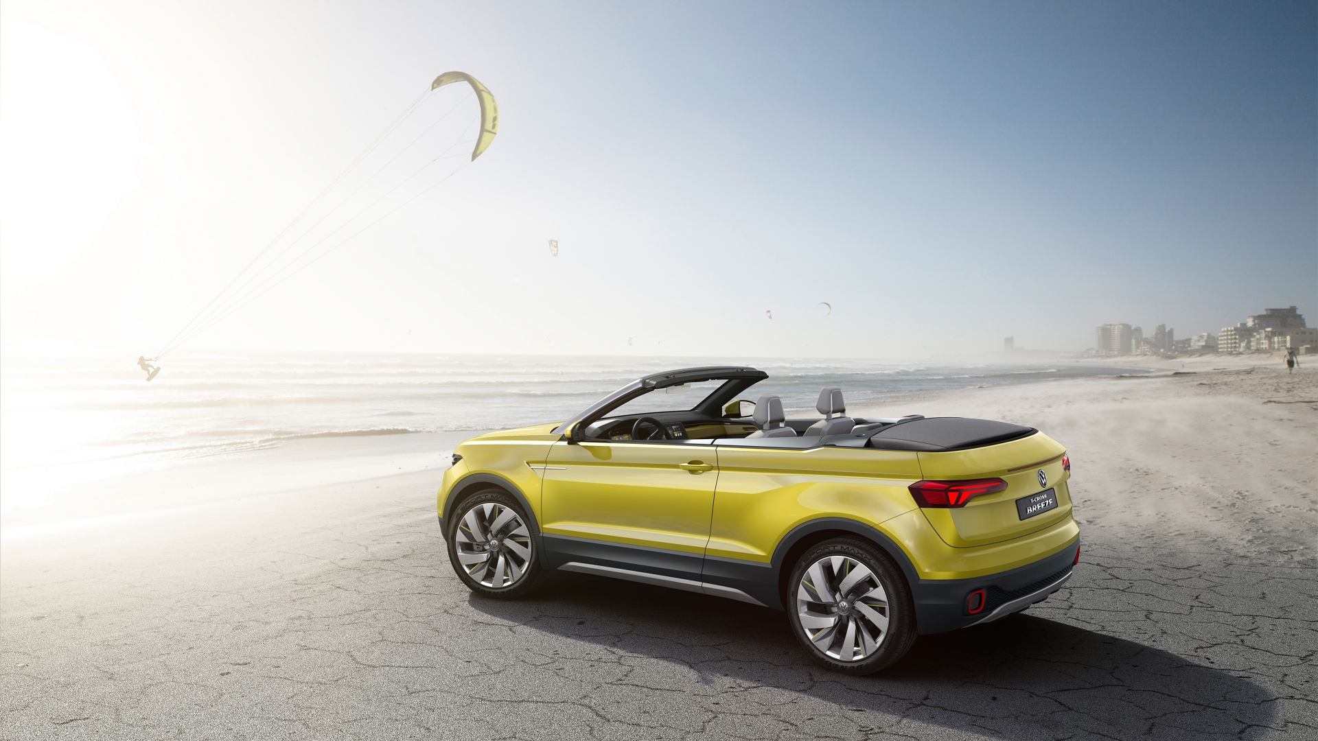 Volkswagen T-Cross Breeze Concept 2016 - Photo 03 - Taille: 1920x1080