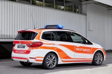 BMW Serie 2 Gran Tourer Emergency 2016