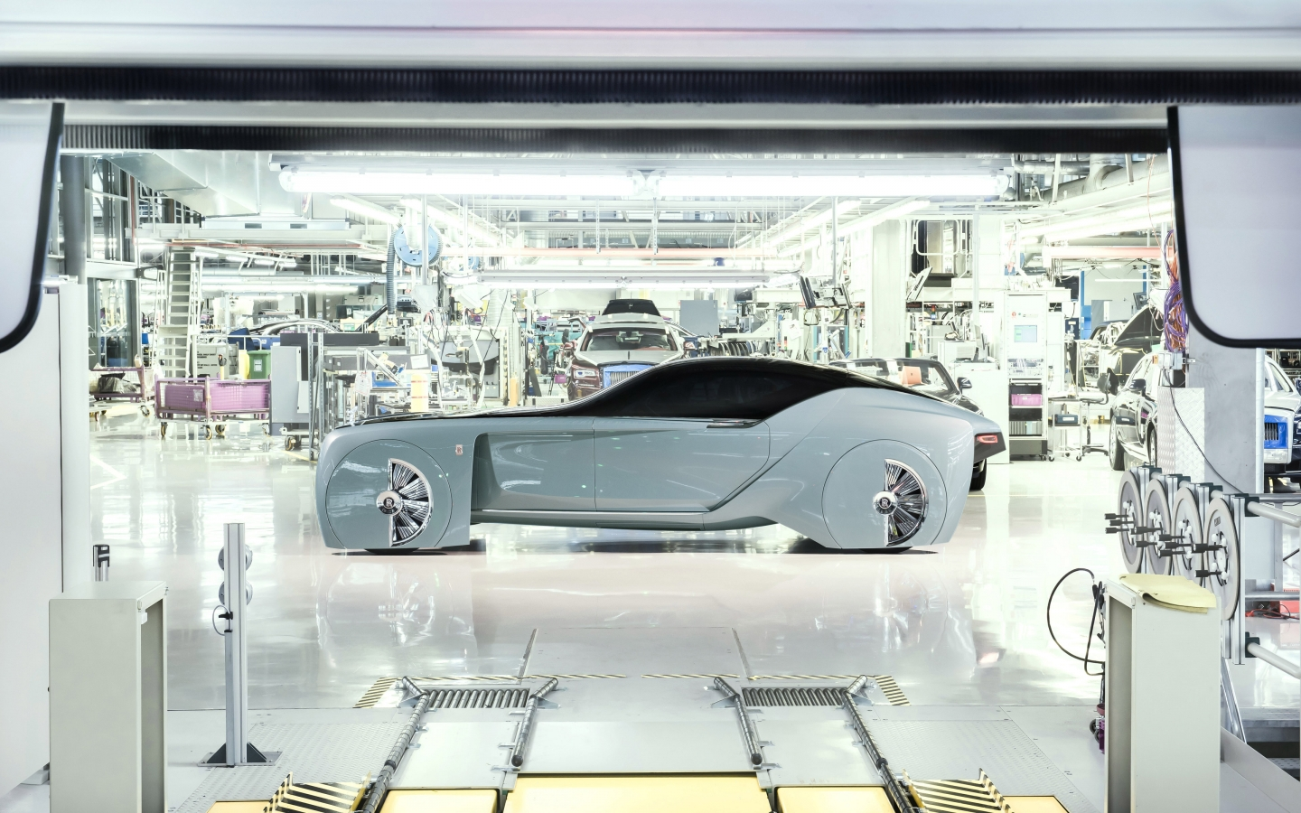 Rolls-Royce Vision Next 100 Concept 2016 - Photo 06 - Taille: 1440x900