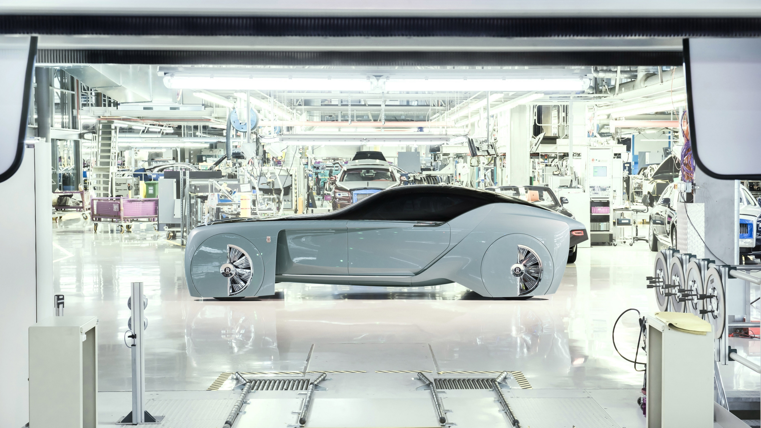 Rolls-Royce Vision Next 100 Concept 2016 - Photo 06 - Taille: 2560x1440
