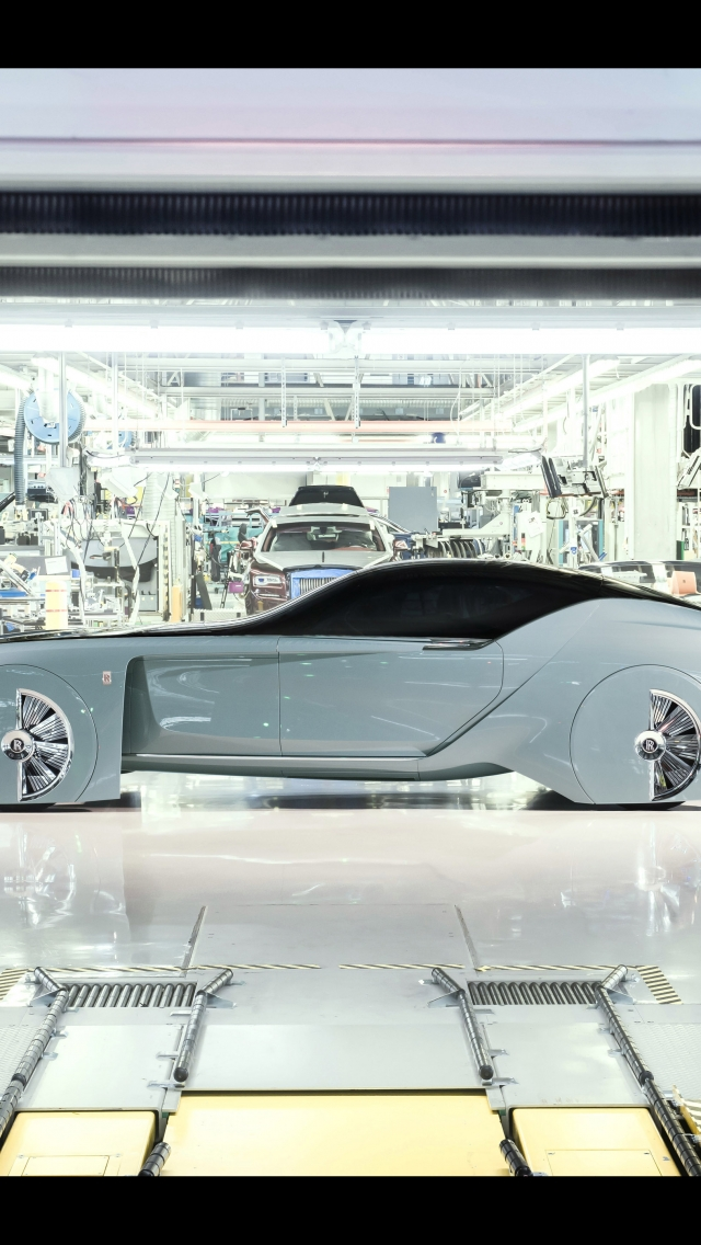 Rolls-Royce Vision Next 100 Concept 2016 - Photo 06 - Taille: 640x1136