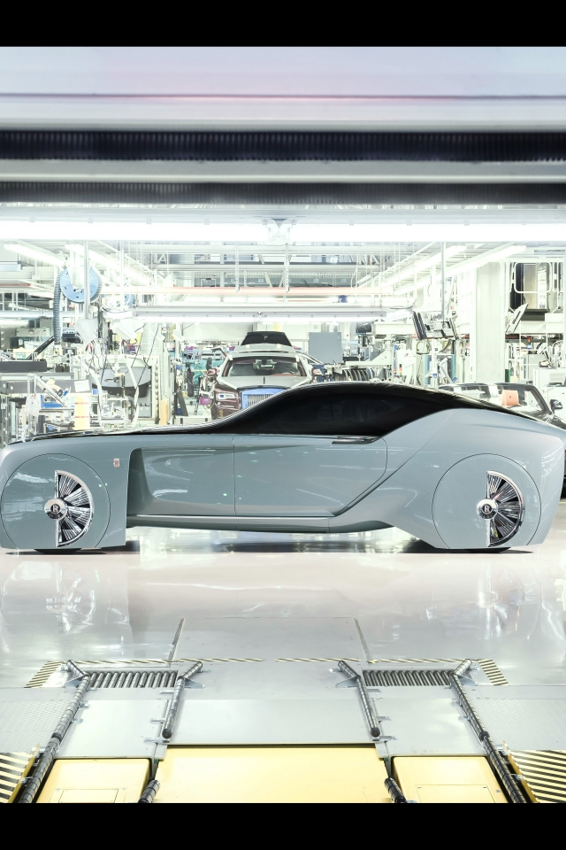 Rolls-Royce Vision Next 100 Concept 2016 - Photo 06 - Taille: 640x960